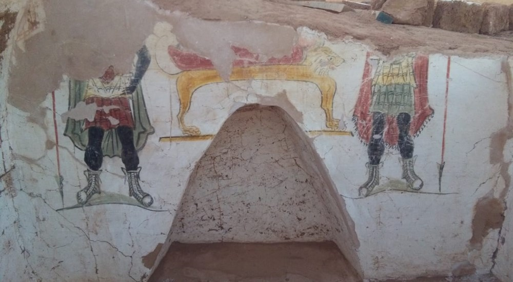 Two New Roman Tombs Discovered at Dakhla Oasis