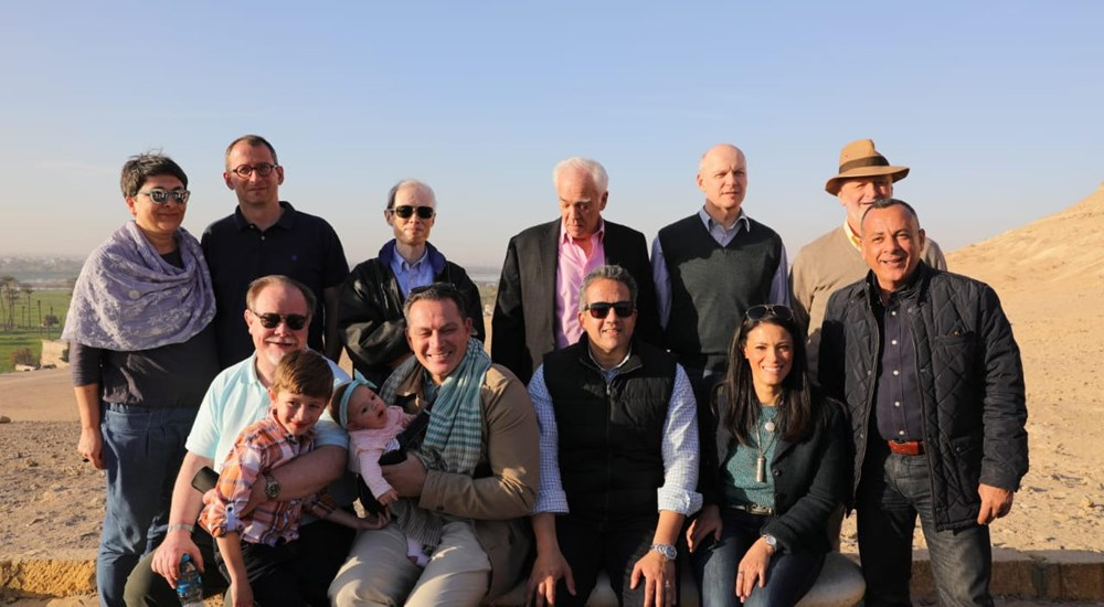 Minister of Antiquities and Tourism, accompanied by ambassadors and cultural advisors of 11 foreign countries, toured the ruins of Minya
