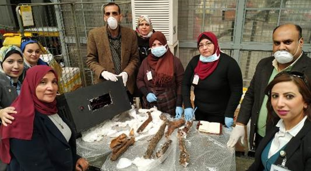 Egypt foils smuggling attempt of mummies' remains