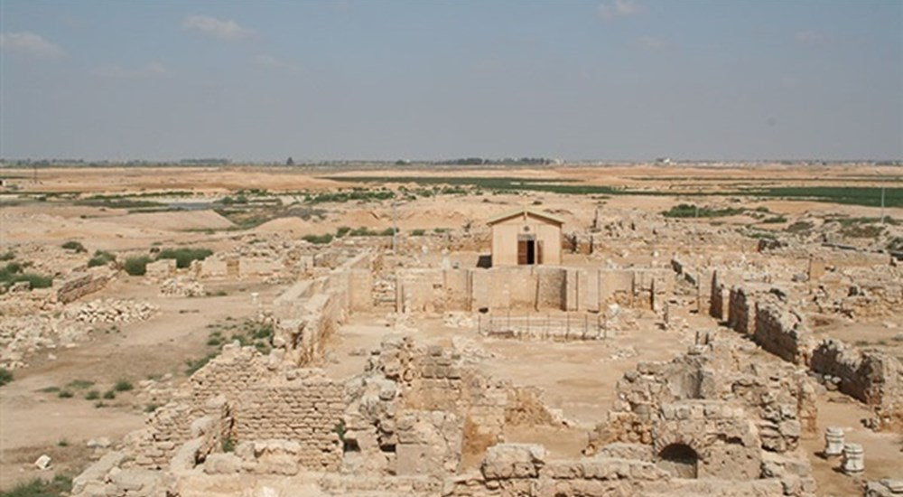 start of the second phase of the development project of Abu Mina archaeological area
