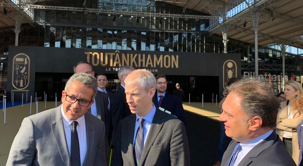 Fw: The official inauguration of Tutankhamun's exhibition in Paris by Egypt'sMinister of Antiquities and French Minister of Culture