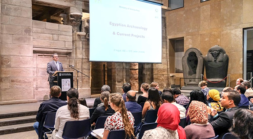 Prof.Khaled El-Enany was the guest of honour at the International Congress for Young Egyptologists in Leiden
