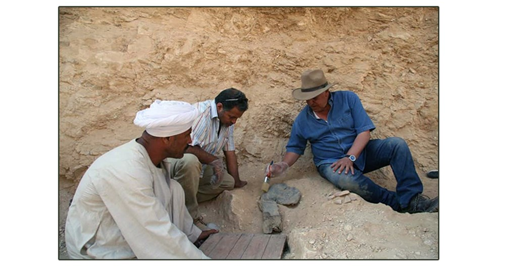 "Discoveries of the Egyptian archaeological mission headed by Dr. Zahi Hawass, in the ""Valley of the Apes"""