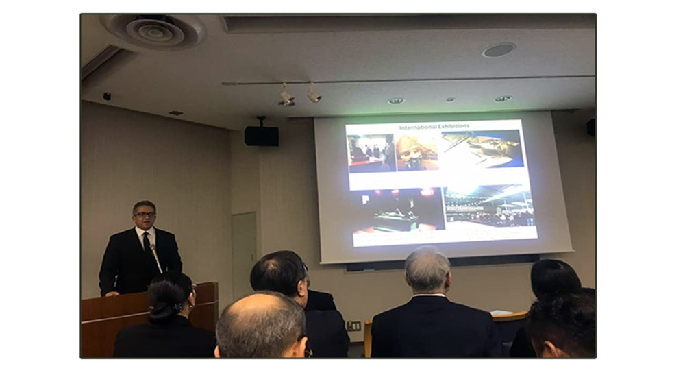 Dr. Khaled Al-Anani, Minister of Antiquities, Gives a Lecture at Waseda University