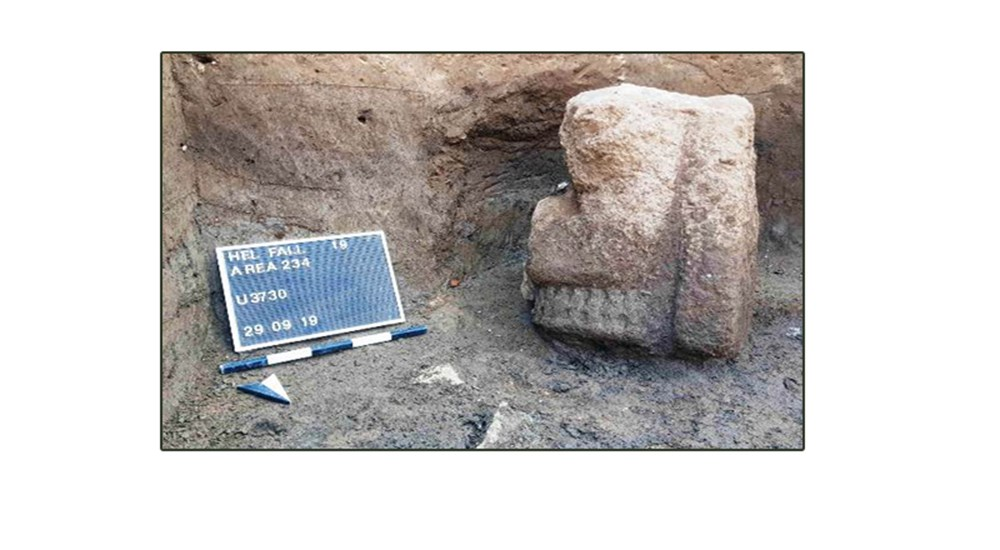 Discoveries of the German-Egyptian mission working in the Heliopolis temple