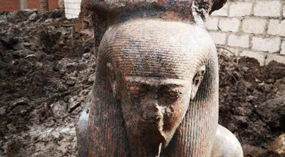 Royal Ka-Statue Discovered at Mit Rahina