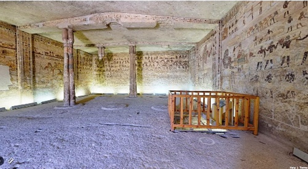 A Virtual Tour through the Tomb of Kheti in Beni Hasan