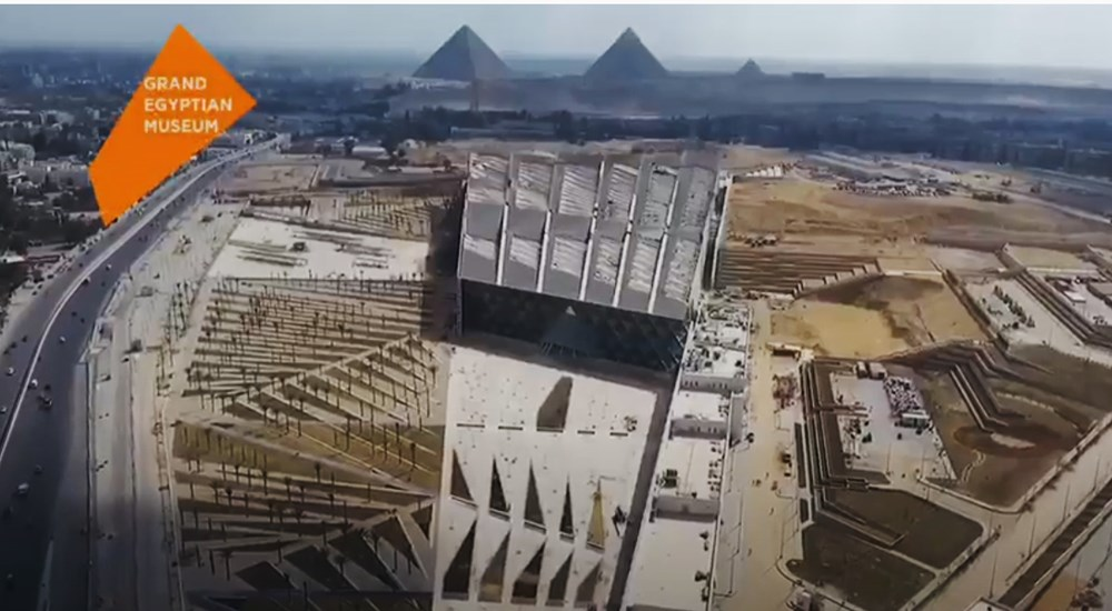 The Conservation Laboratory of the Grand Egyptian Museum