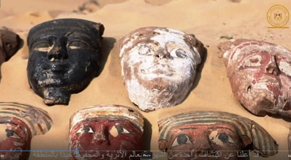 Details of New Discovery in Saqqara Announced Online