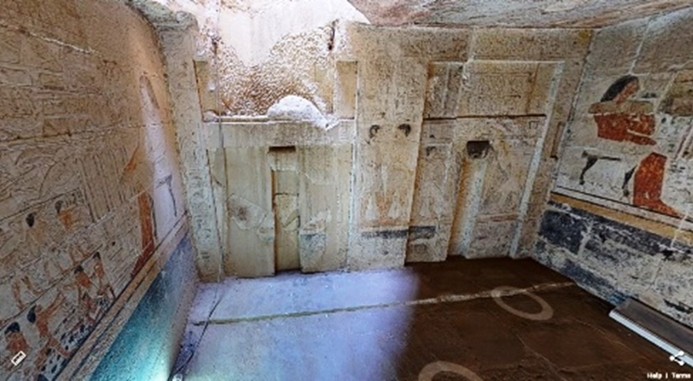 A Virtual Tour through the Tomb of the Two Brothers