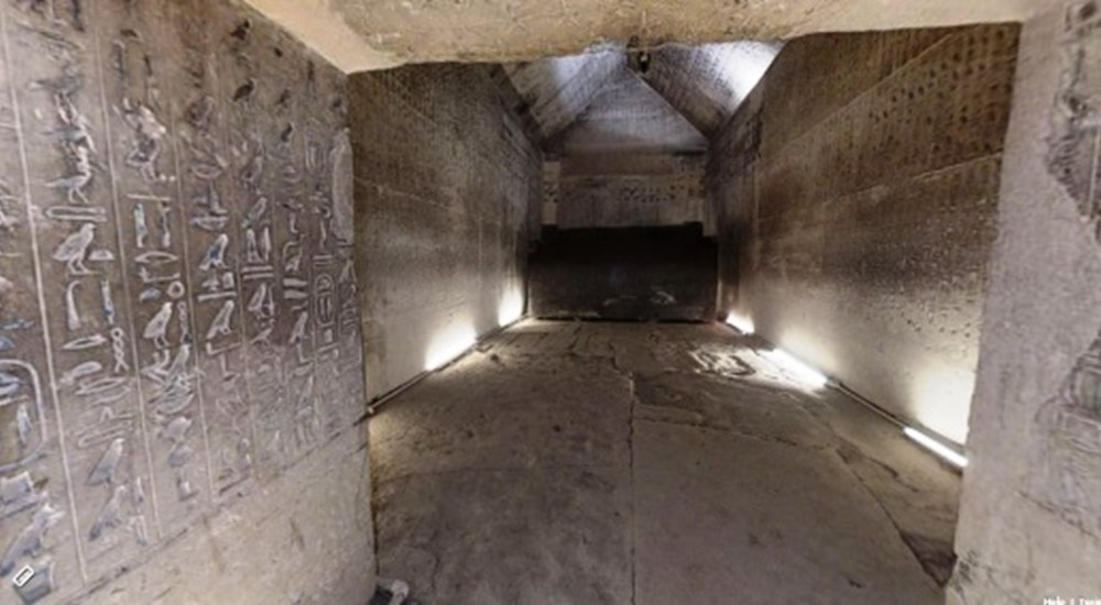 A Virtual Tour through The Funerary Complex of King Unas