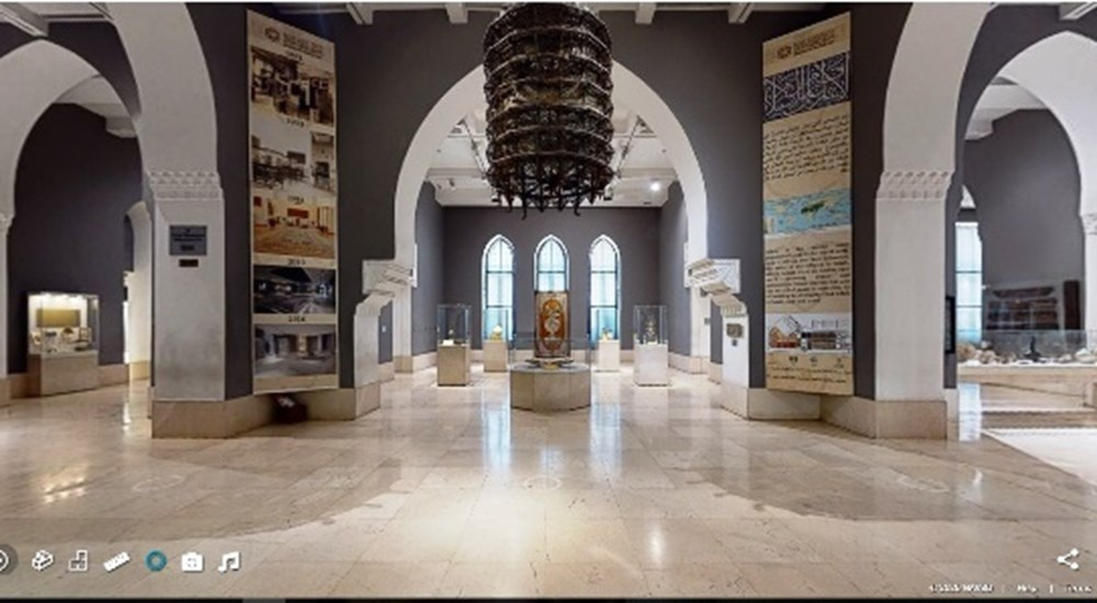 A  New Virtual tour in The Islamic Art Museum in Cairo