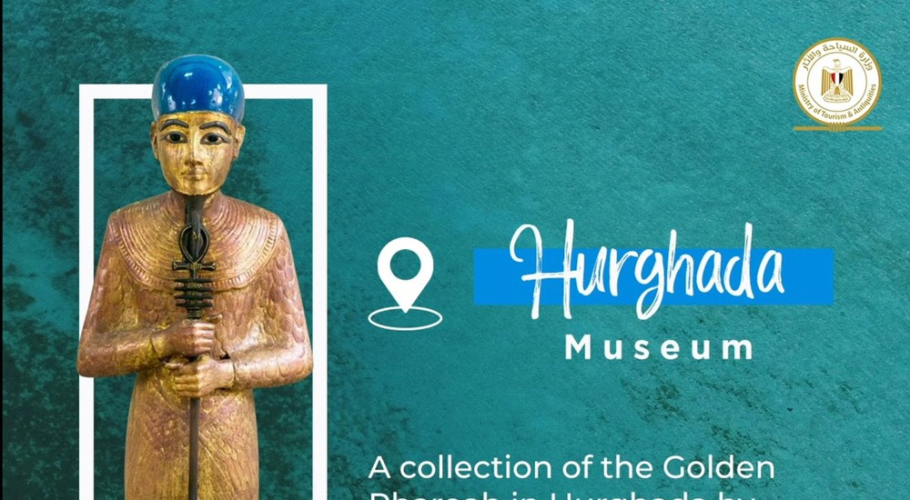 For the first time..a collection of treasures of  the Golden Pharoah in Hurghada