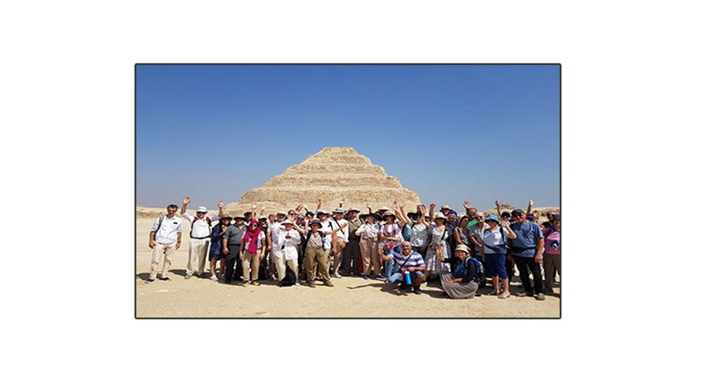 Saqqara welcomed the first touristic group from France