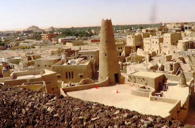 Shali village in Siwa Oasis
