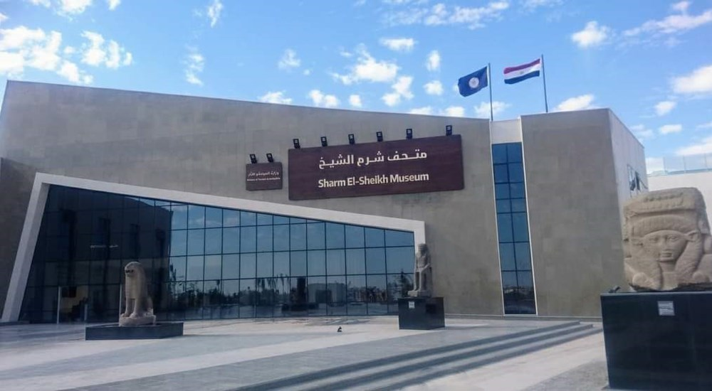 A lecture and guided tour in Sharm El-Sheikh Museum