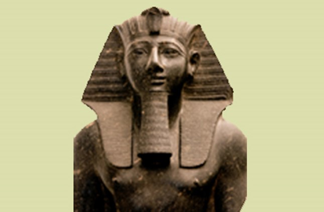 Granite statue of King Thutmose III