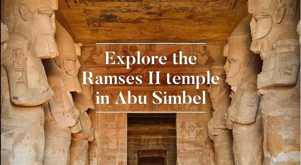 Virtual tour for Abu Simbel Temple