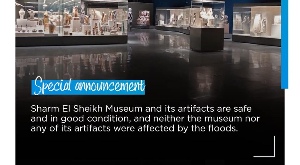 Sharm El-Sheikh Museum and its artifacts are safe