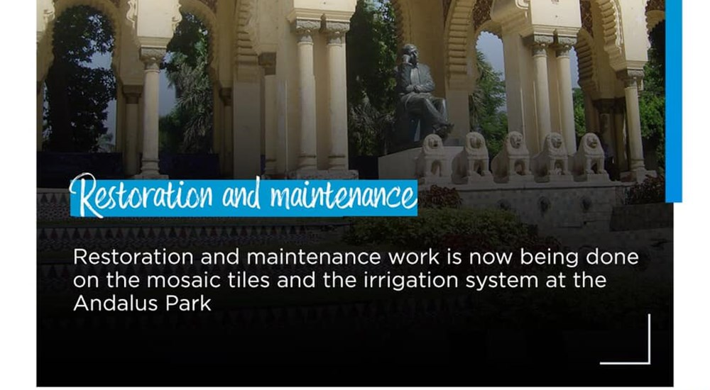 Renovation and replacement works for Andalus Park irrigation system